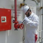 Routine maintenance of Fire Fighting Equipment