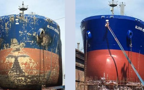 Glovis Mermaid Dry Dock